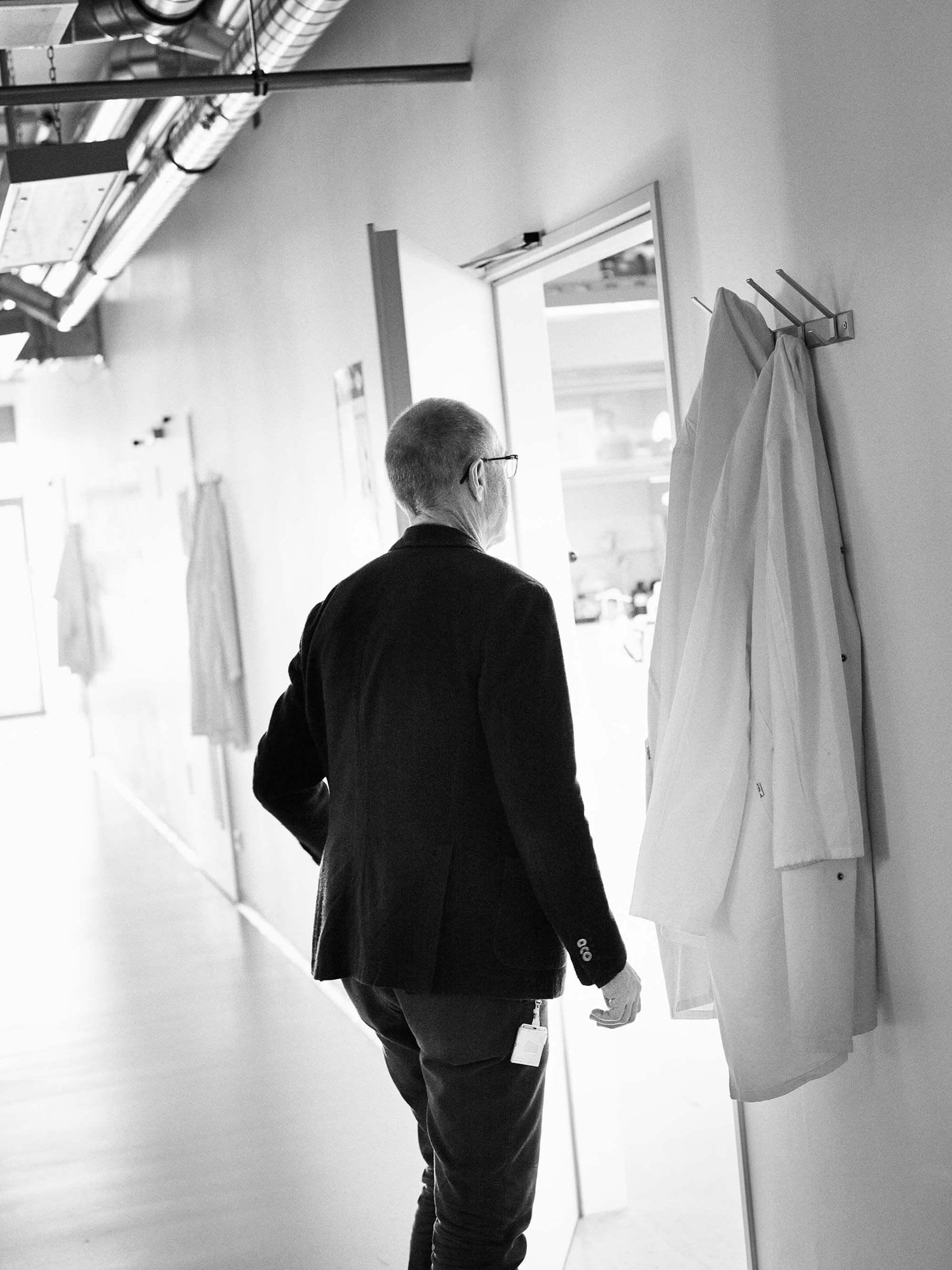 Ralf Dreher schwarz-weiß