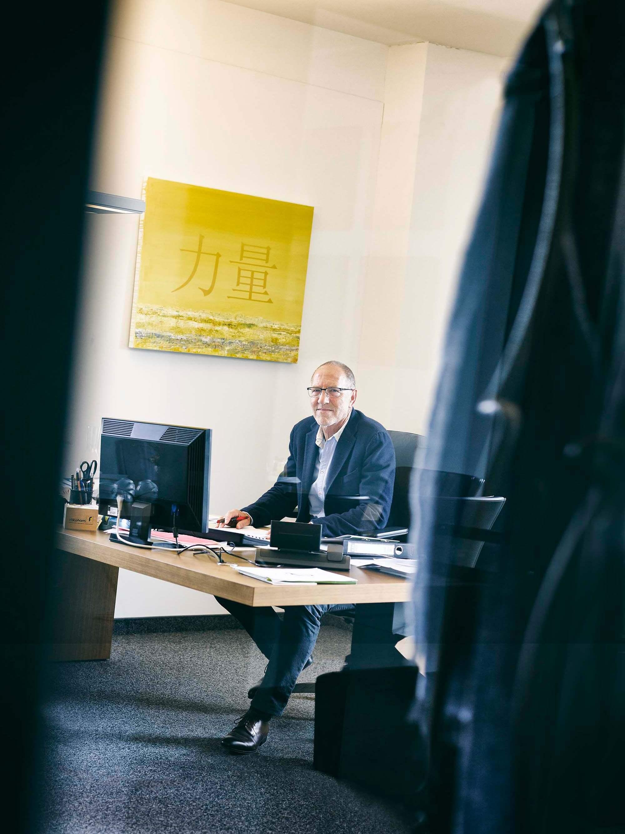 Ralf Dreher im Büro