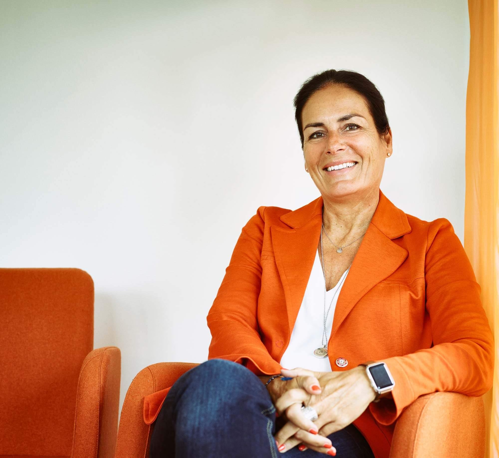 Foto vom Interview mit Rechtsanwältin Manuela Reibold-Rollinger