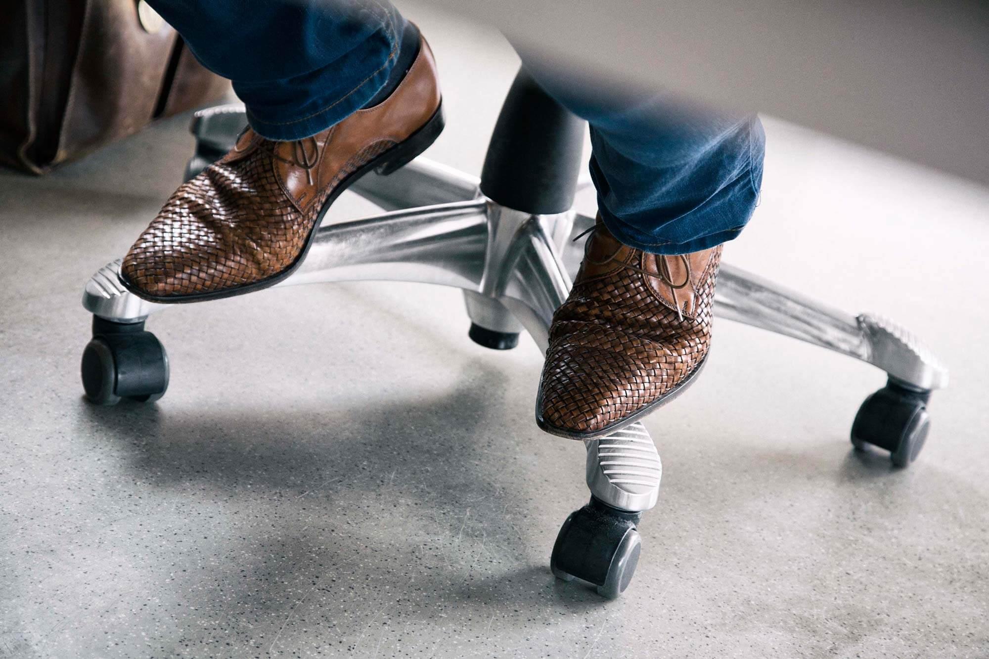 Schuhe von Holger Zulauf - SamedayLogistics